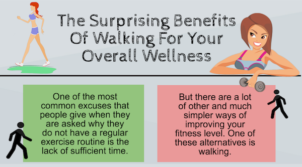 The Surprising Benefits Of Walking For Your Overall Wellness