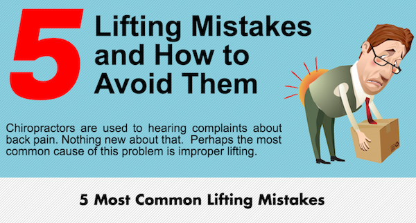 5 Lifting Mistakes and How to Avoid Them