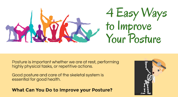 4 Easy Ways to Improve Your Posture