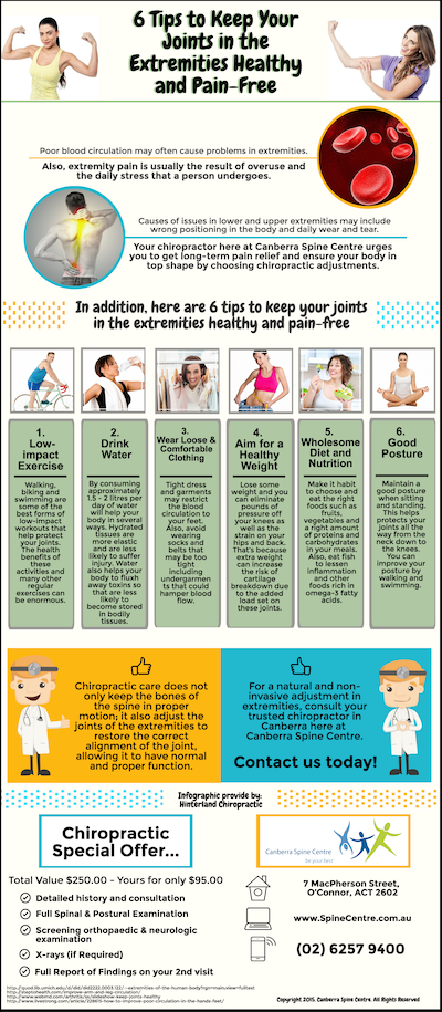6 Tips to Keep Your Joints in the Extremities Healthy and Pain-Free-