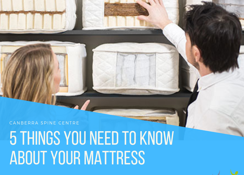 5 Things You Need to Know About Your Mattress
