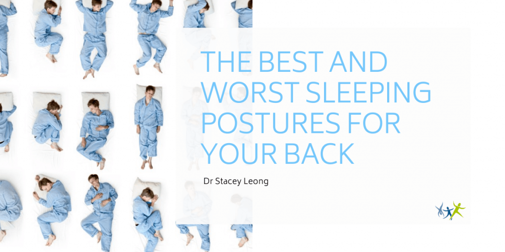 the best and worst sleeping postures for your back by stacey leong
