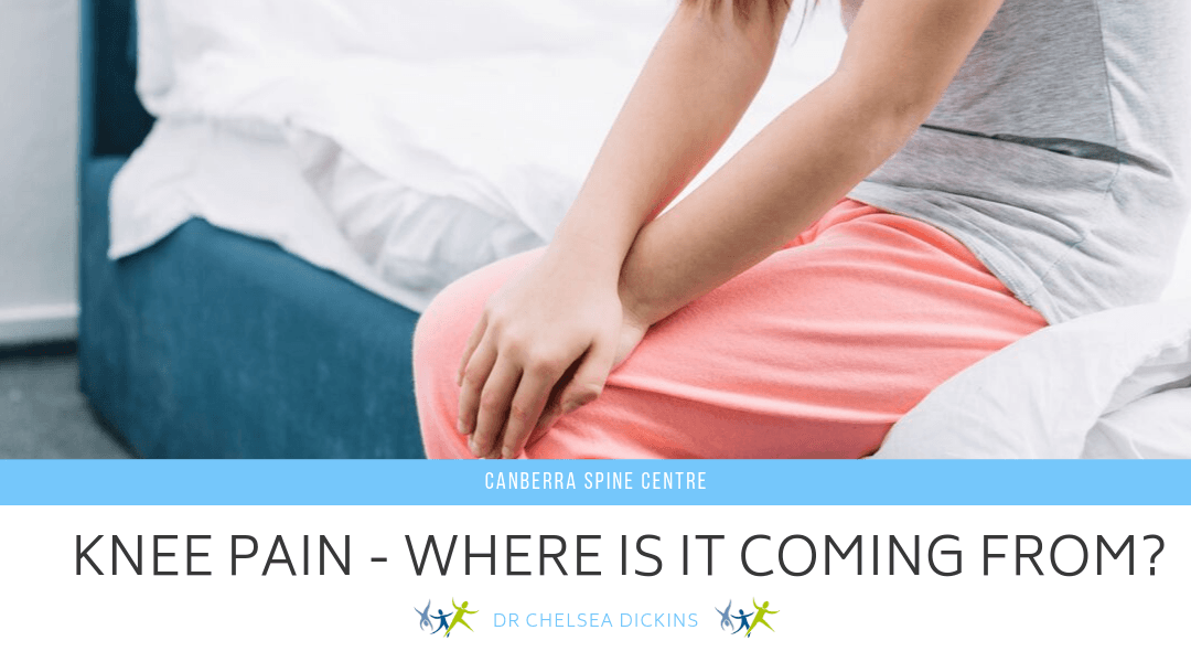 Knee Pain Where's It Coming From?