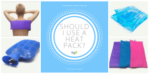 should i use a heat pack canberra