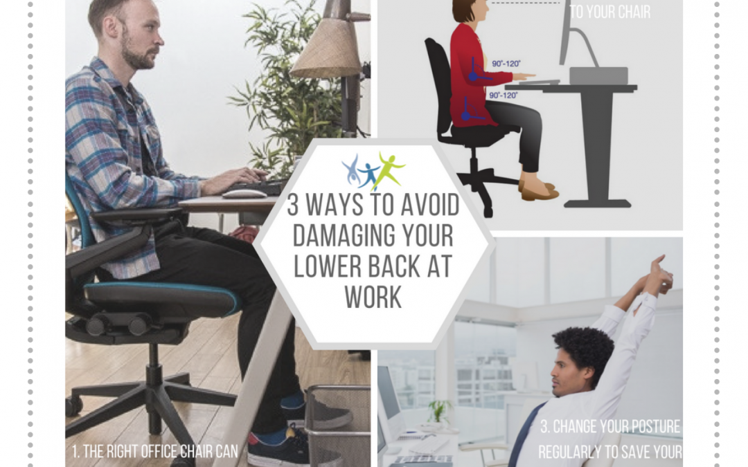 3 Ways to Avoid Damaging Your Lower Back at Work