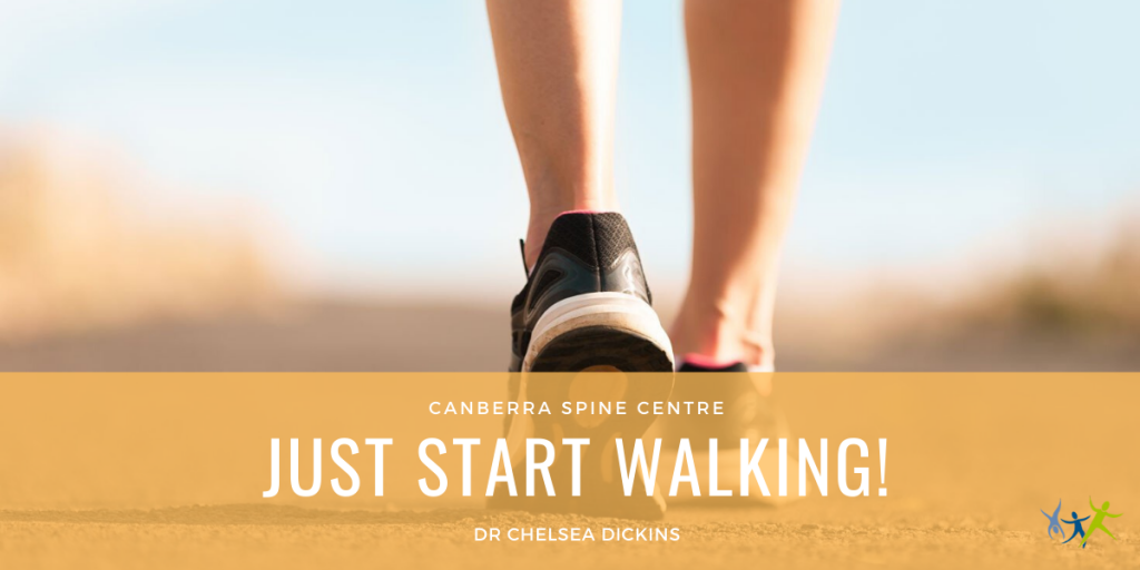 just start walking canberra