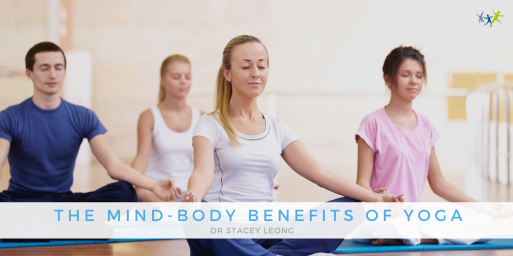 the mind-body benefits of yoga banner canberra