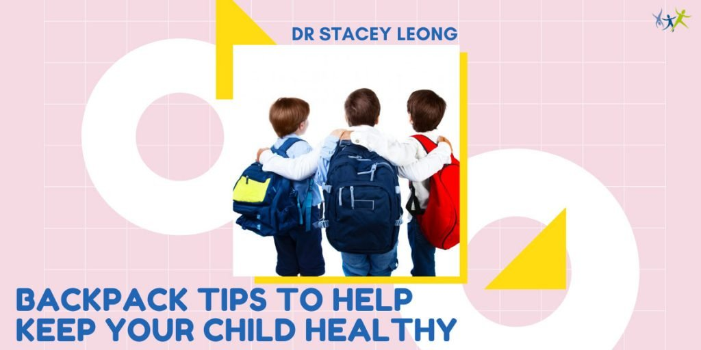 Backpack Tips To Help Keep Your Child Healthy Canberra