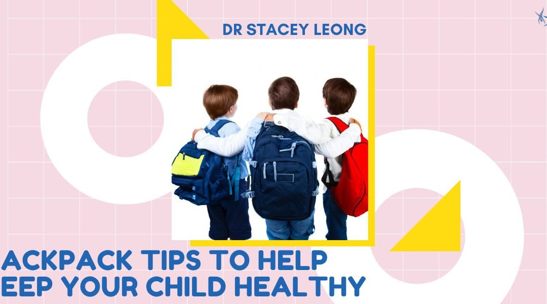 Backpack Tips To Help Keep Your Child Healthy