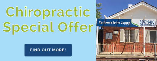 canberra chiropractic special banner